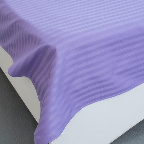 Простыня страйп-сатин 618 цвет сиреневый 1.5 сп фото 2