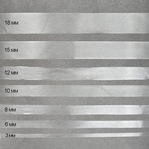 Лента силиконовая матовая ширина 12 мм толщина 0.3 мм фото 1