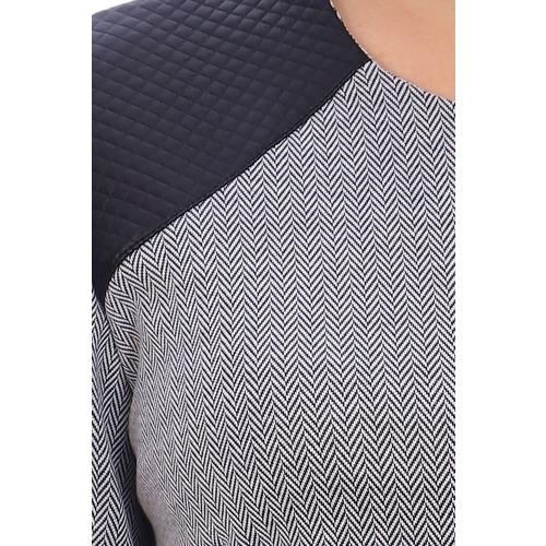 Джемпер Сальса 10369 цвет серый р 50 фото 3