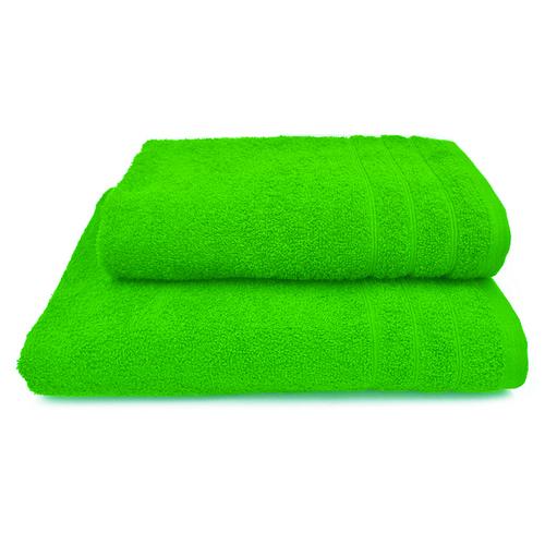 Полотенце махровое Перманент 50/80 см цвет салатовый фото 1