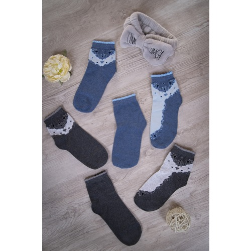 Носки Мехенди женские 11122 р 23-25 фото 1