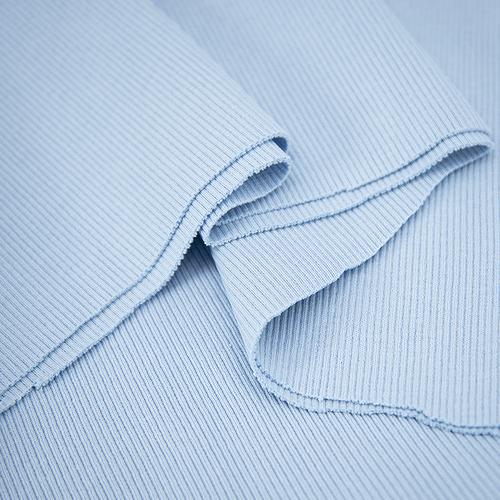Ткань на отрез кашкорсе 3-х нитка с лайкрой цвет голубое небо фото 4