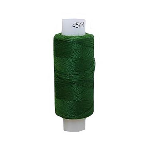 Нитки швейные 45ЛЛ 200м цвет 3114 т.зеленый фото 1
