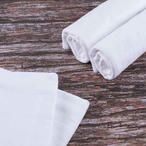 Набор детских пеленок фланель 4 шт 75/120 см Белый фото 1