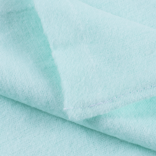 Набор детских пеленок фланель 4 шт 75/120 см Голубой/Фисташковый фото 2