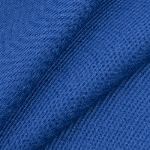 Ткань на отрез саржа цвет василек фото 1