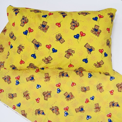 Ткань на отрез бязь ГОСТ детская 150 см 609/4 цвет жёлтый фото 2