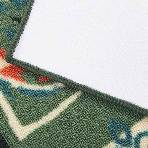 Коврик для ванной 40/55 100 цвет зеленый фото 2
