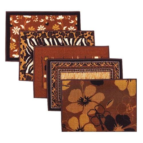 Коврик для ванной 40/55 100 цвет коричневый фото 1