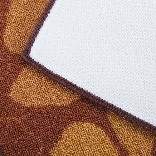 Коврик для ванной 40/55 100 цвет коричневый фото 2