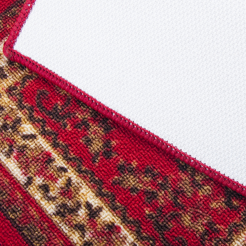 Коврик для ванной 40/55 100 цвет красный фото 2