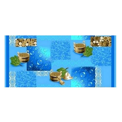 Полотенце вафельное банное 150/75 см 83381 фото 1