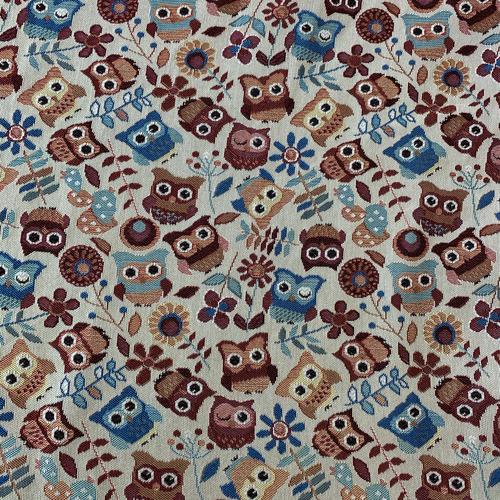 Ткань на отрез гобелен Жаккард 206 см С162-ЮА Фантазия 76 фото 1