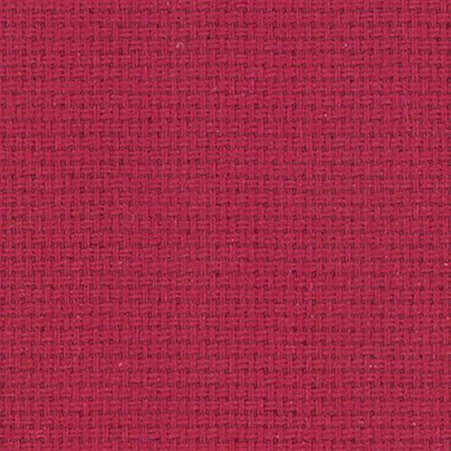 Ткань на отрез рогожка 150 см цвет бордо фото 1