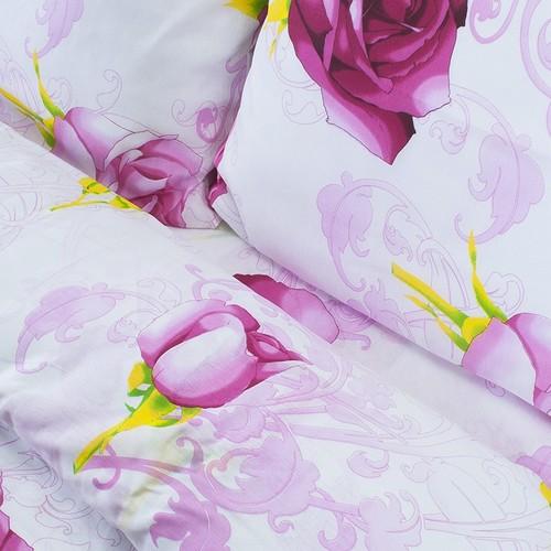 Постельное белье из бязи эконом 3152/1 розовый 2-х сп фото 3