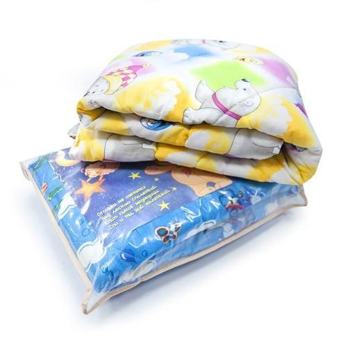 Одеяло Овечья шерсть 150гр чехол хлопок 110/140 см фото 3