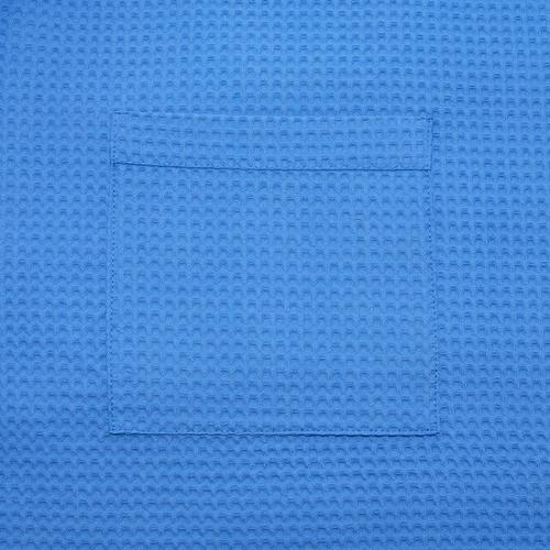 Набор для сауны вафельный мужской 2 предмета цвет 556-3 василек фото 3