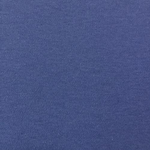 Ткань на отрез интерлок цвет синий фото 1