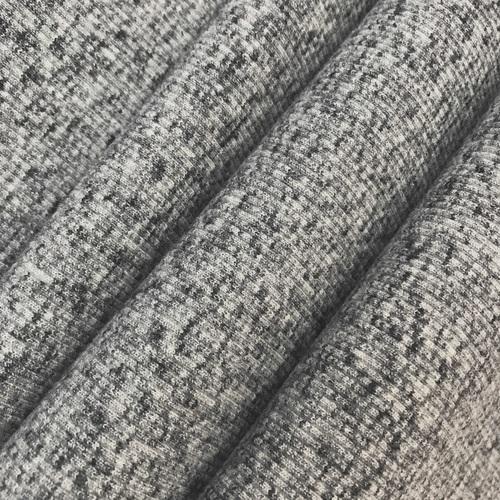 Ткань на отрез кашкорсе 3-х нитка с лайкрой Графит фото 1