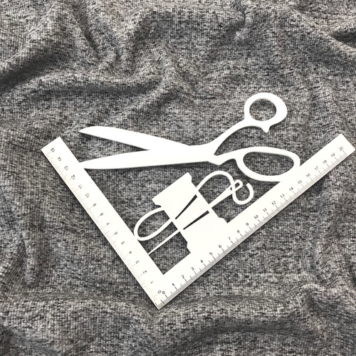 Ткань на отрез кашкорсе 3-х нитка с лайкрой Графит фото 2