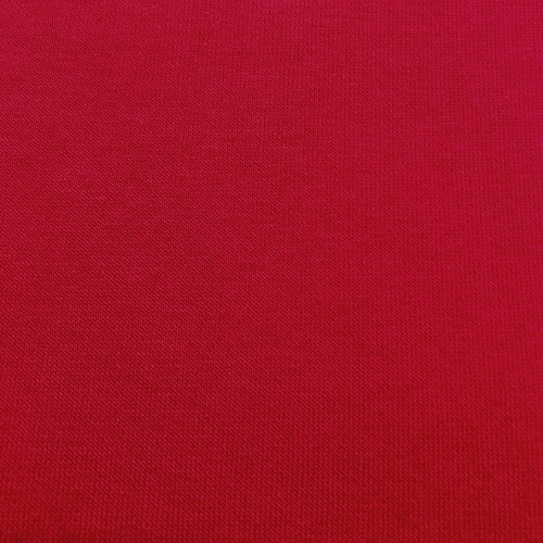 Ткань на отрез футер 3-х нитка компакт пенье начес цвет красный фото 6