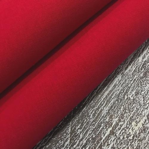 Ткань на отрез футер 3-х нитка компакт пенье начес цвет красный фото 4