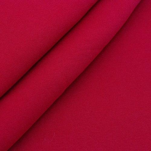 Ткань на отрез футер 3-х нитка компакт пенье начес цвет красный фото 3