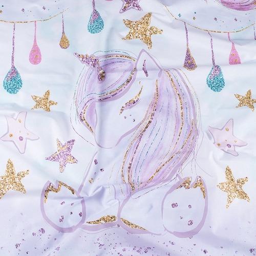 Ткань на отрез перкаль 150 см 13247/1 Unicorns Модель 1 фото 4