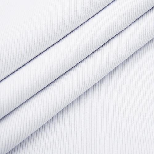 Ткань на отрез кашкорсе 3-х нитка с лайкрой цвет белый фото 3