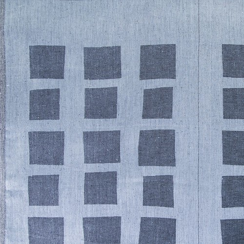 Маломеры лен купонный квадрат цвет черный 1.55 м фото 1