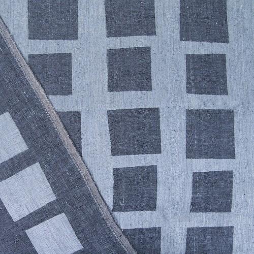 Маломеры лен купонный квадрат цвет черный 1.55 м фото 2