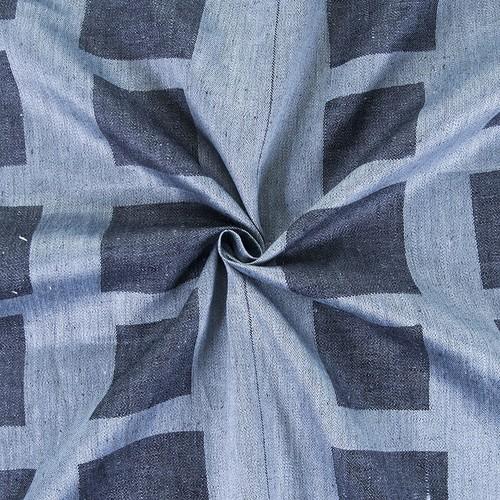 Маломеры лен купонный квадрат цвет черный 1.55 м фото 3