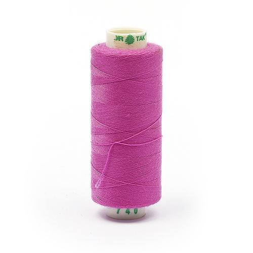 Нитки бытовые Dor Tak 40/2 366м 100% п/э, цв.740 розовый фото 1