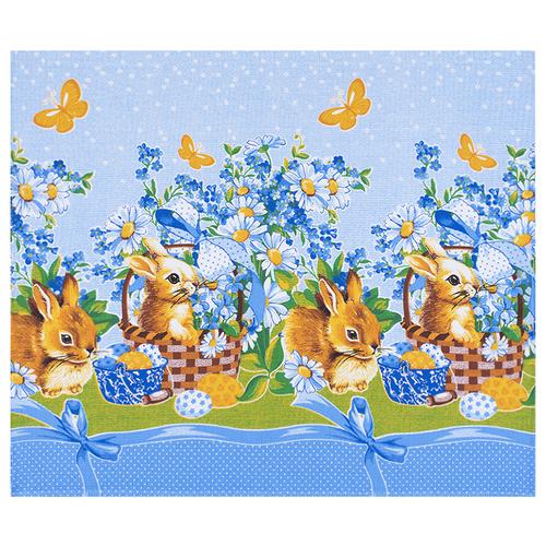 Набор вафельных полотенец 3 шт 50/60 см 191601 Пасхальный кролик фото 1