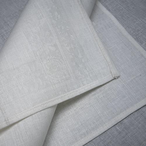 Весовой лоскут Салфетка полулен отбеленный рисунок 0,45 / 0,45 м по 1 кг фото 3