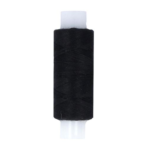 Нитки швейные 45ЛЛ 2500м цвет черный фото 1