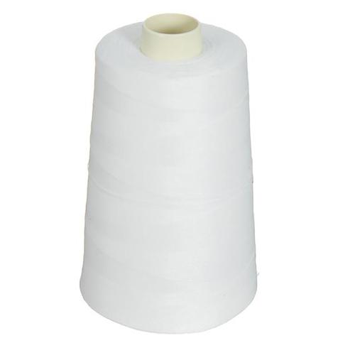 Нитки швейные 70ЛЛ 2500м цвет 0101 белый фото 1