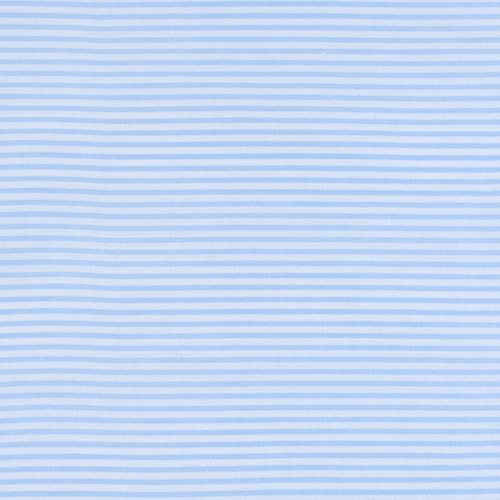 Мерный лоскут бязь плательная 150 см 1663/3 цвет голубой 2,7 м фото 1