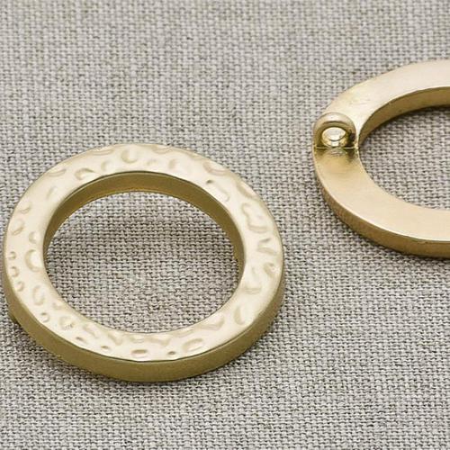 Пуговица металл ПМ42 матовое золото уп 12 шт фото 1