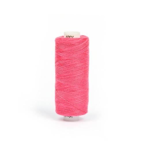 Нитки бытовые IDEAL 40/2 366м 100% п/э, цв.190 розовый фото 1