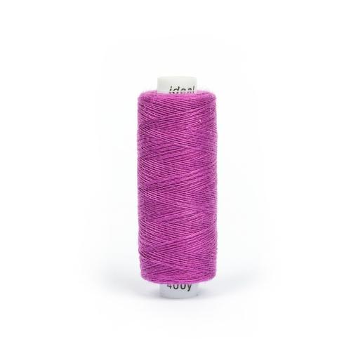 Нитки бытовые IDEAL 40/2 366м 100% п/э, цв.192 фиолетовый фото 1