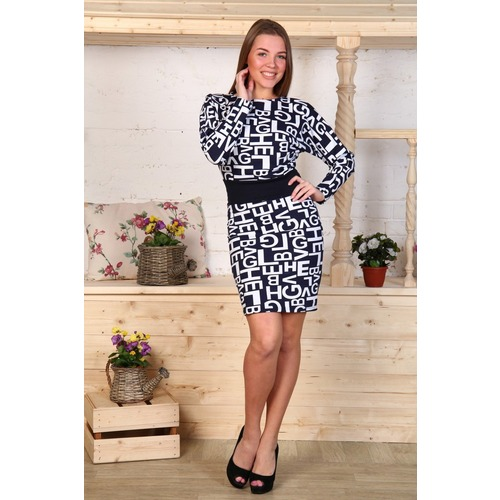 Платье Моника буквы Д448 р 54 фото 1
