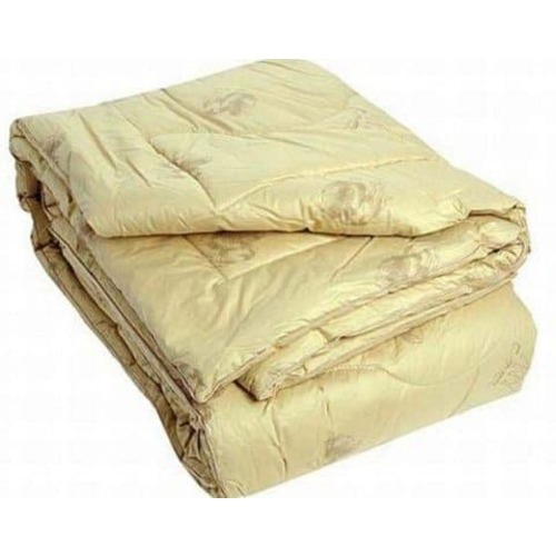 Одеяло Верблюжья шерсть 200/220 300 гр/м2 чехол хлопок фото 2