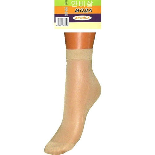 Женские капроновые носки Анфиса 098 бежевые фото 1