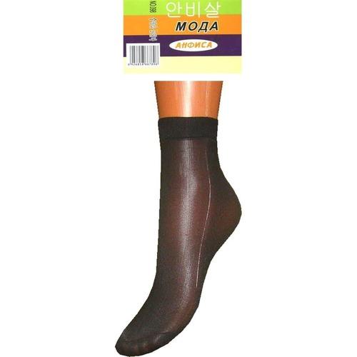 Женские капроновые носки Анфиса 098 чёрные фото 1