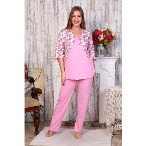 Пижама Нежность Розовая Б12 р 60 фото 1