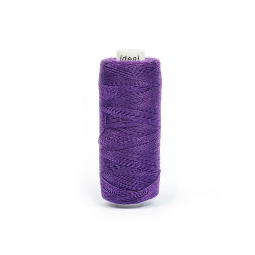 Нитки бытовые Ideal 40/2 100% п/э 200 фиолетовый фото 1