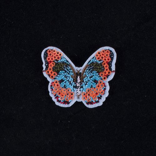Термоаппликация ТАВ 204 бабочка малая 5*4см фото 1