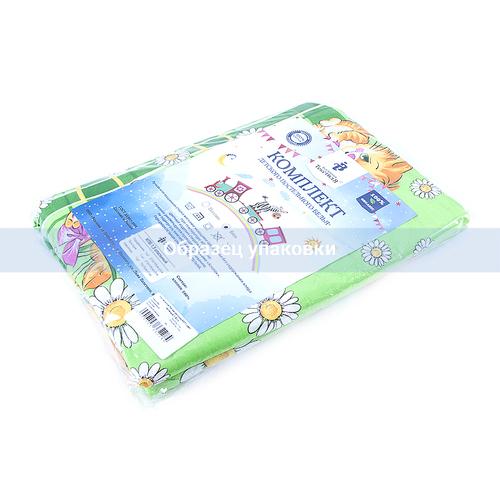 Детское постельное белье из бязи 1.5 сп 837/1 цвет зеленый фото 5