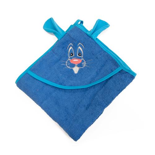 Уголок детский махровый с вышивкой василек фото 3